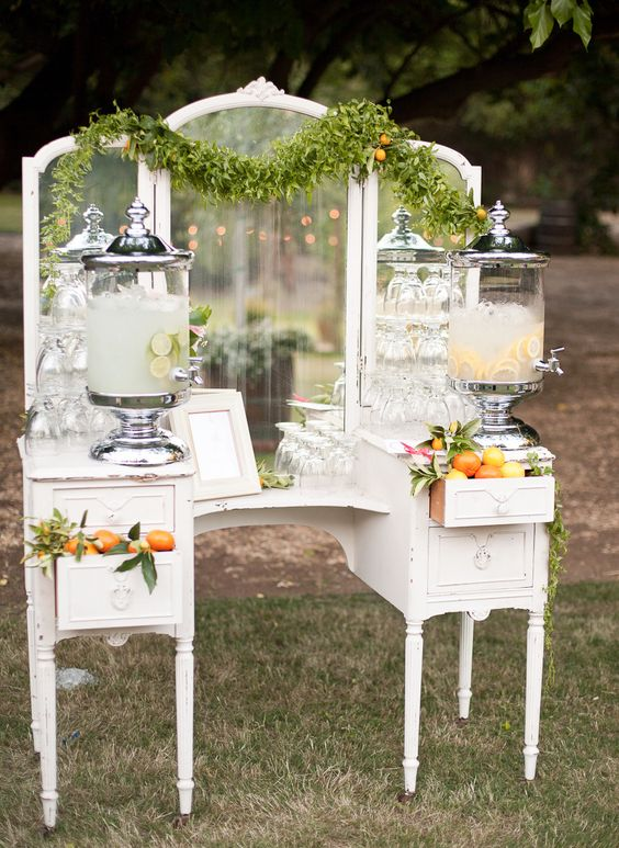 Specialty Drinks Table