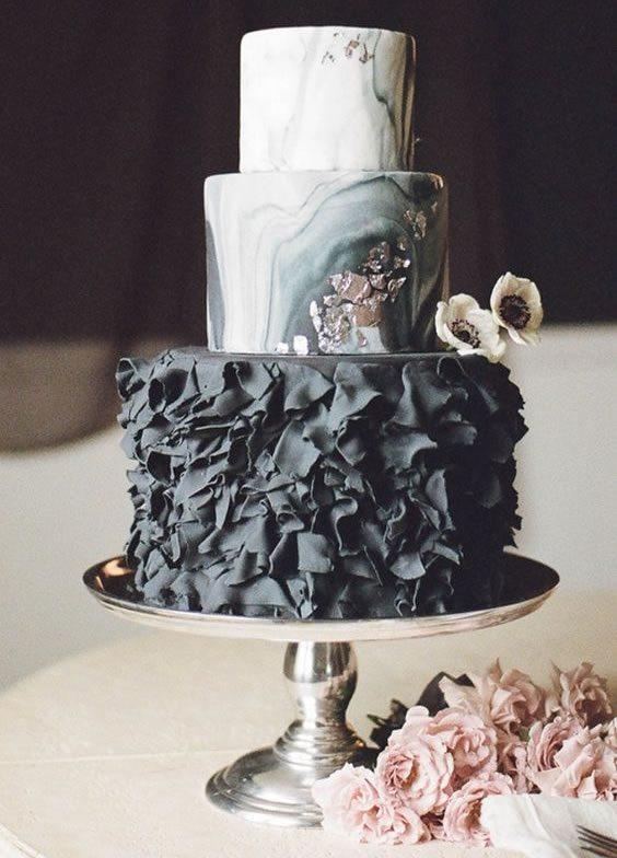 Trending Wedding Cakes - Ruffled